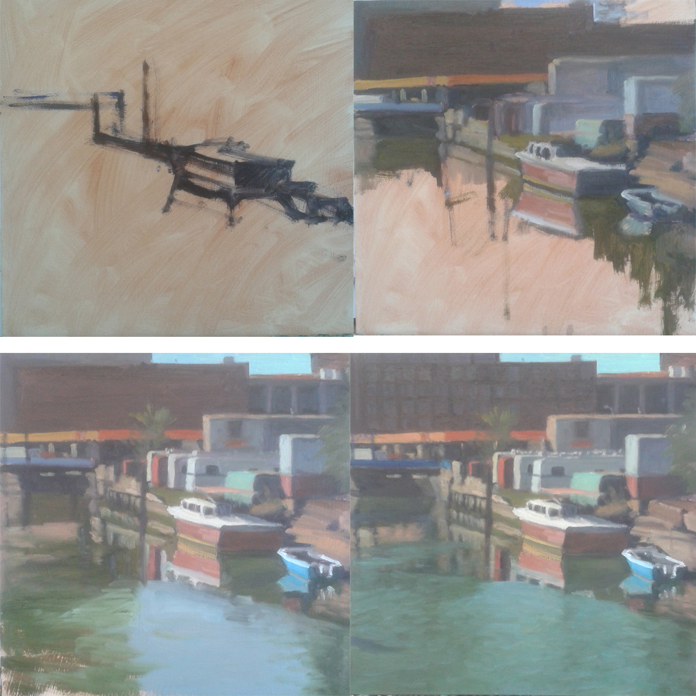 View Image Details A painting in progress