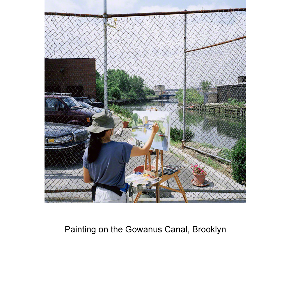 View Image Details Painting the Gowanus Canal, Brooklyn