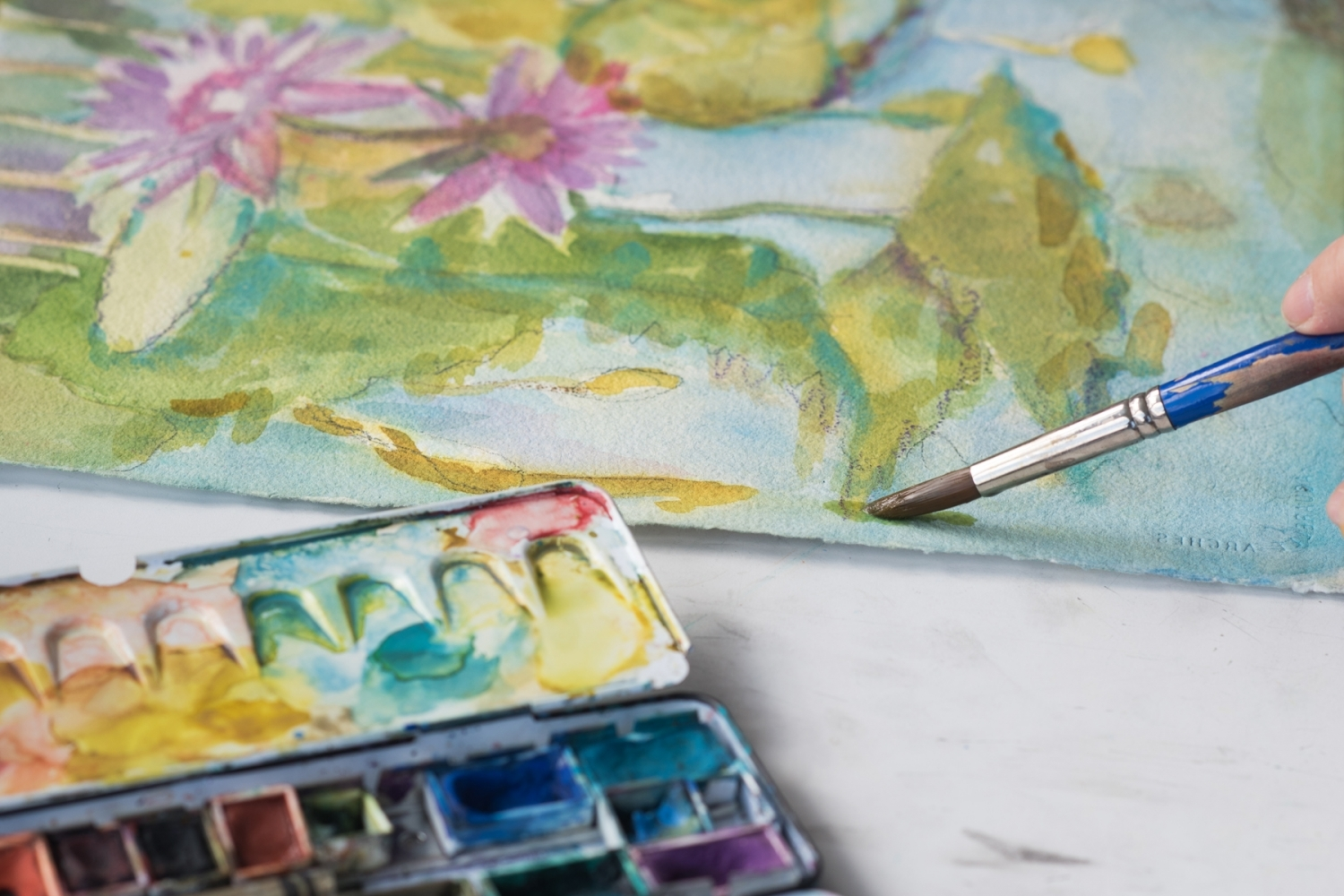 View Image Details My Watercolor Paintbox