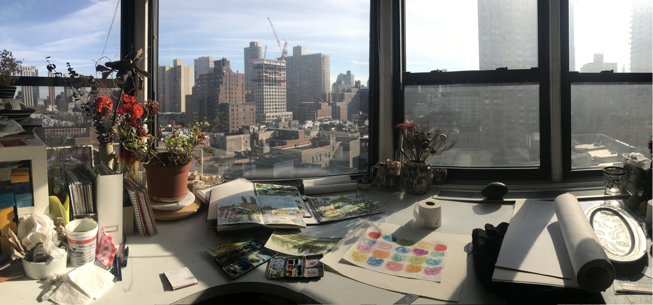 View Image Details My Studio Panoramic View