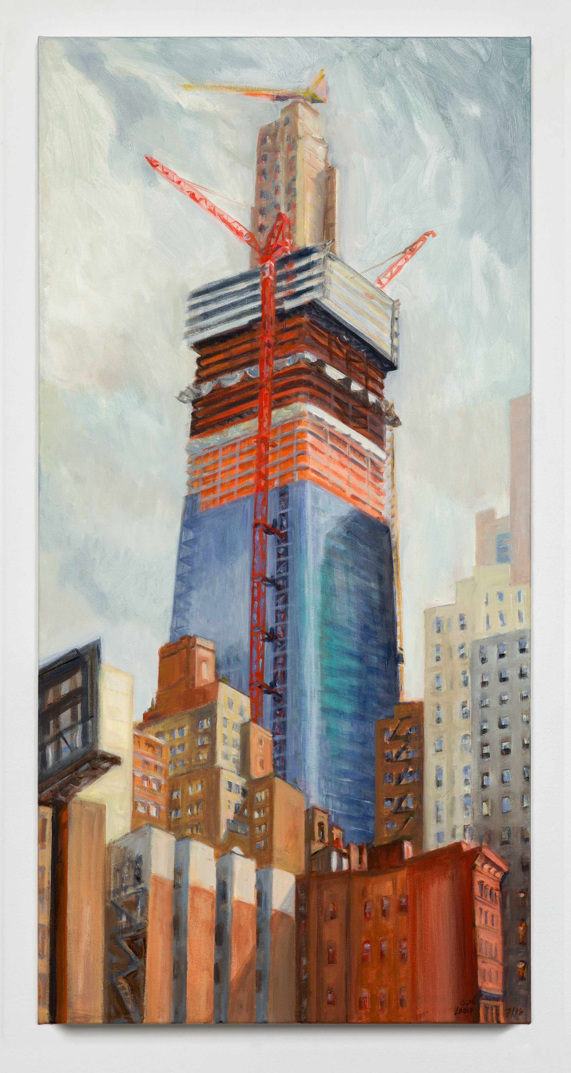 View Image Details One Manhattan West Rising, June 2018