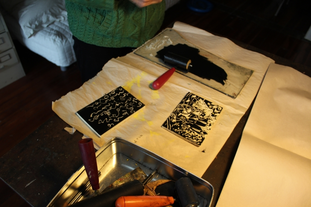 View Image Details wood block printing